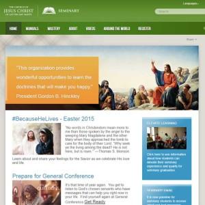 seminary portfolio