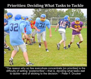 Priorities - Deciding What Tasks to Tackle - Peter Drucker