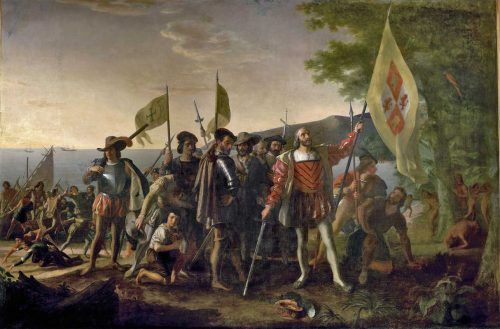 Landing of Columbus