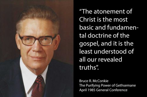 atonement basic doctrine least understood truths McConkie