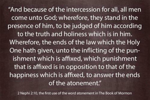 first use of word atonement in the Book of Mormon